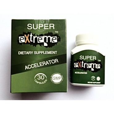Super Extreme Dietary Supplement Accelerator
